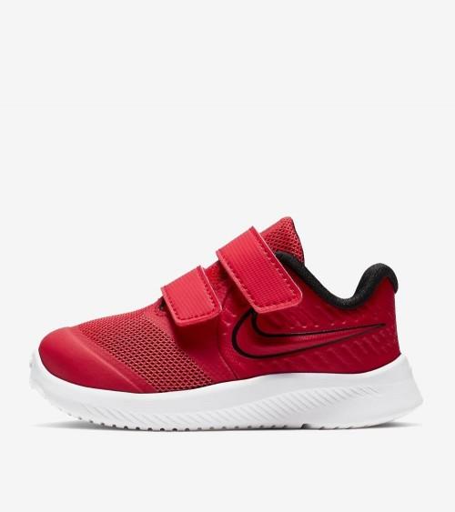 Zapatillas Niño/a Nike Star Runner 2 Roja/Negra (TDV) AT1803-600
